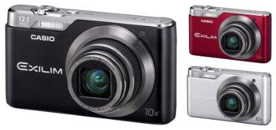 Günstige Digitalkamera mit 10-fach Zoom: Casio Exilim EX-H5 für 79,- Euro