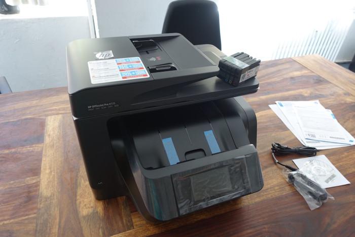 HP OfficeJet Pro 8725 im Test