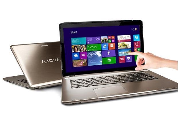 Aktuell bei aldi touch notebook netbook von medion