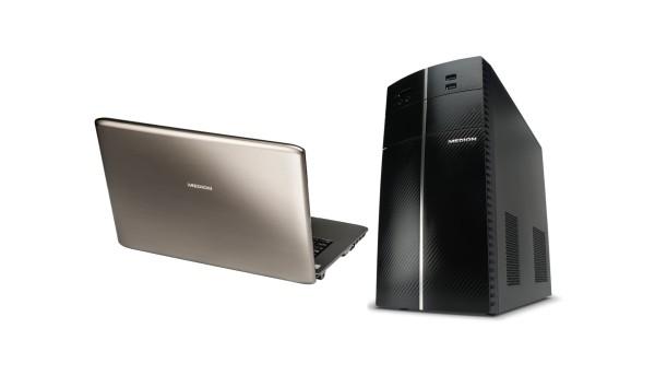 Aldi Computer und Laptops von Medion stark reduziert