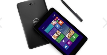 Dell Tablet mit Windows 8.1 günstig kaufen
