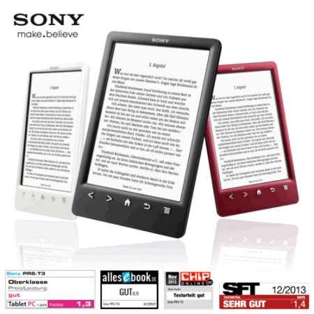 Das perfekte Geschenk: eBook Reader PRS-T3S von Sony