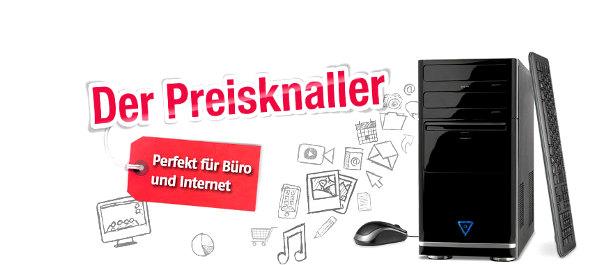 Günstiger PC unter 300 Euro: Medion LIFE E5011 D