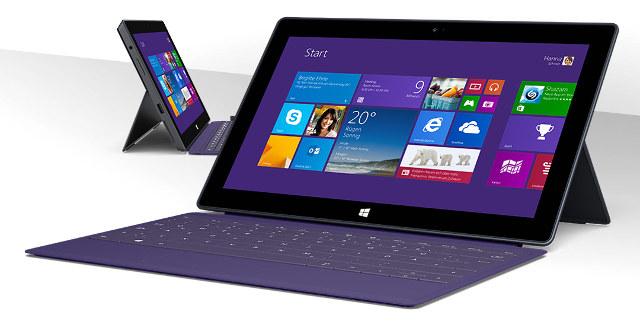 Schneidet im Test sehr gut ab: Surface Pro 2, hier mit Tastatur