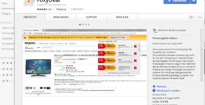 Browser Plugin für Preisvergleich