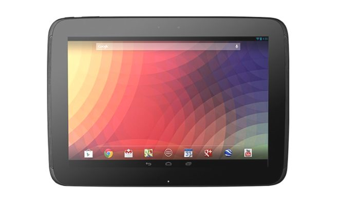 Günstig: Google Nexus 10 WiFi 32GB Android-Tablet in schwarz